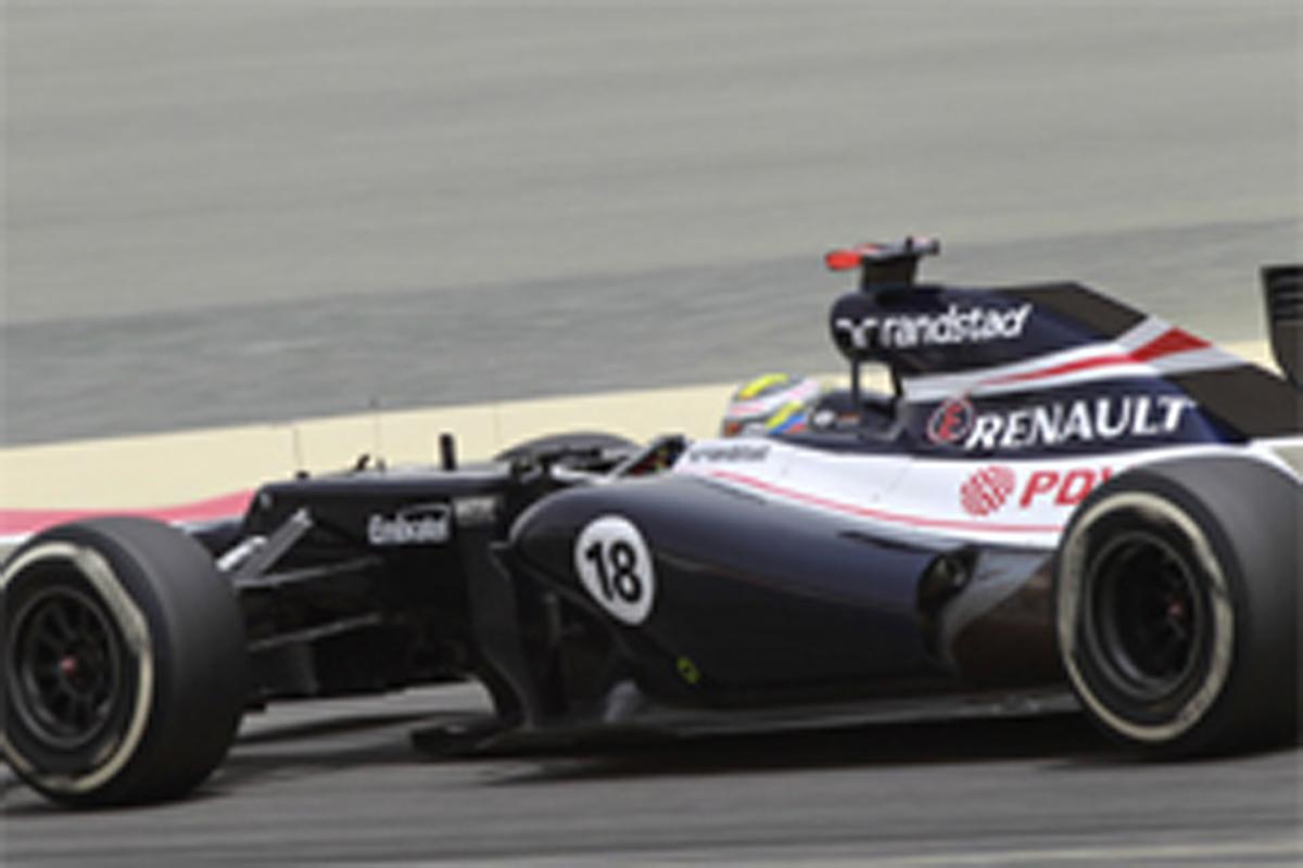 ウィリアムズ F1バーレーンGP