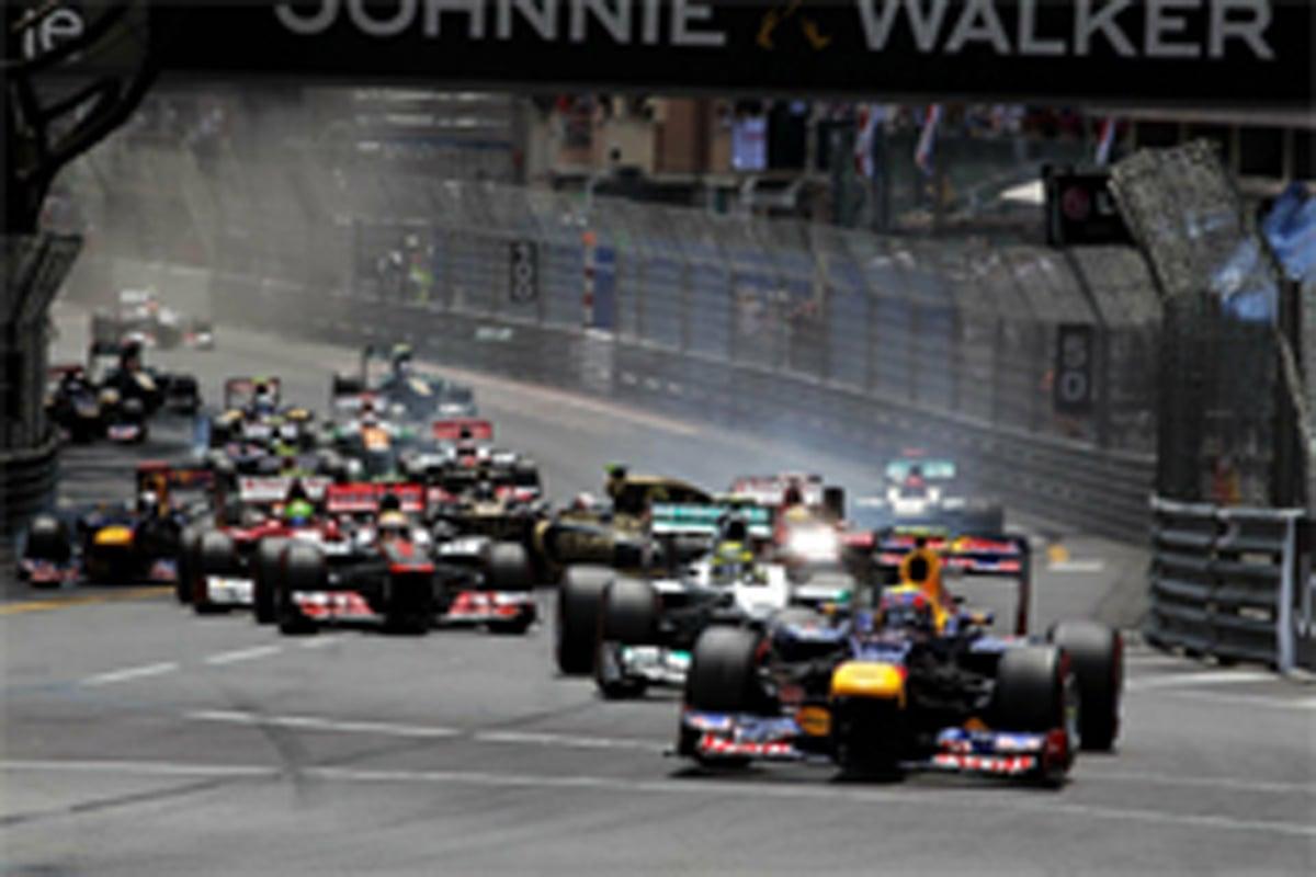 F1 モナコGP 結果