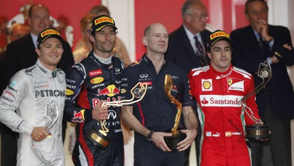 F1 モナコGP 決勝