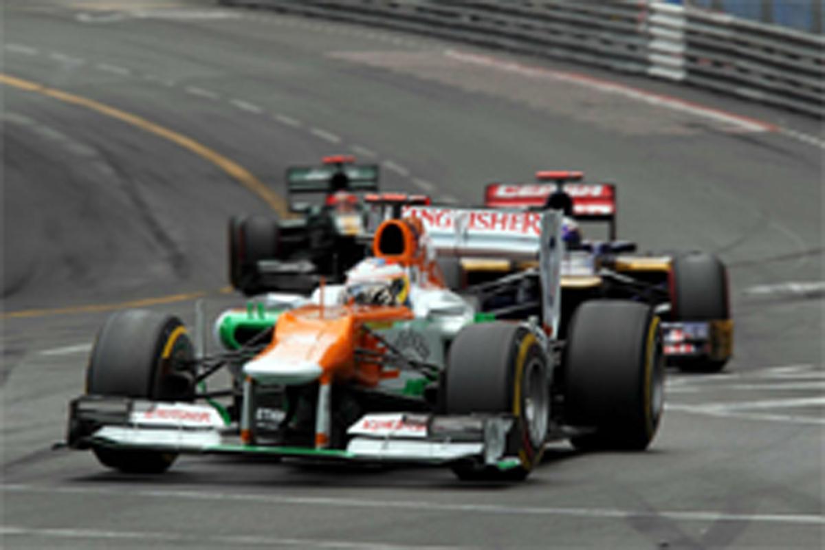 フォース・インディア F1モナコGP 結果