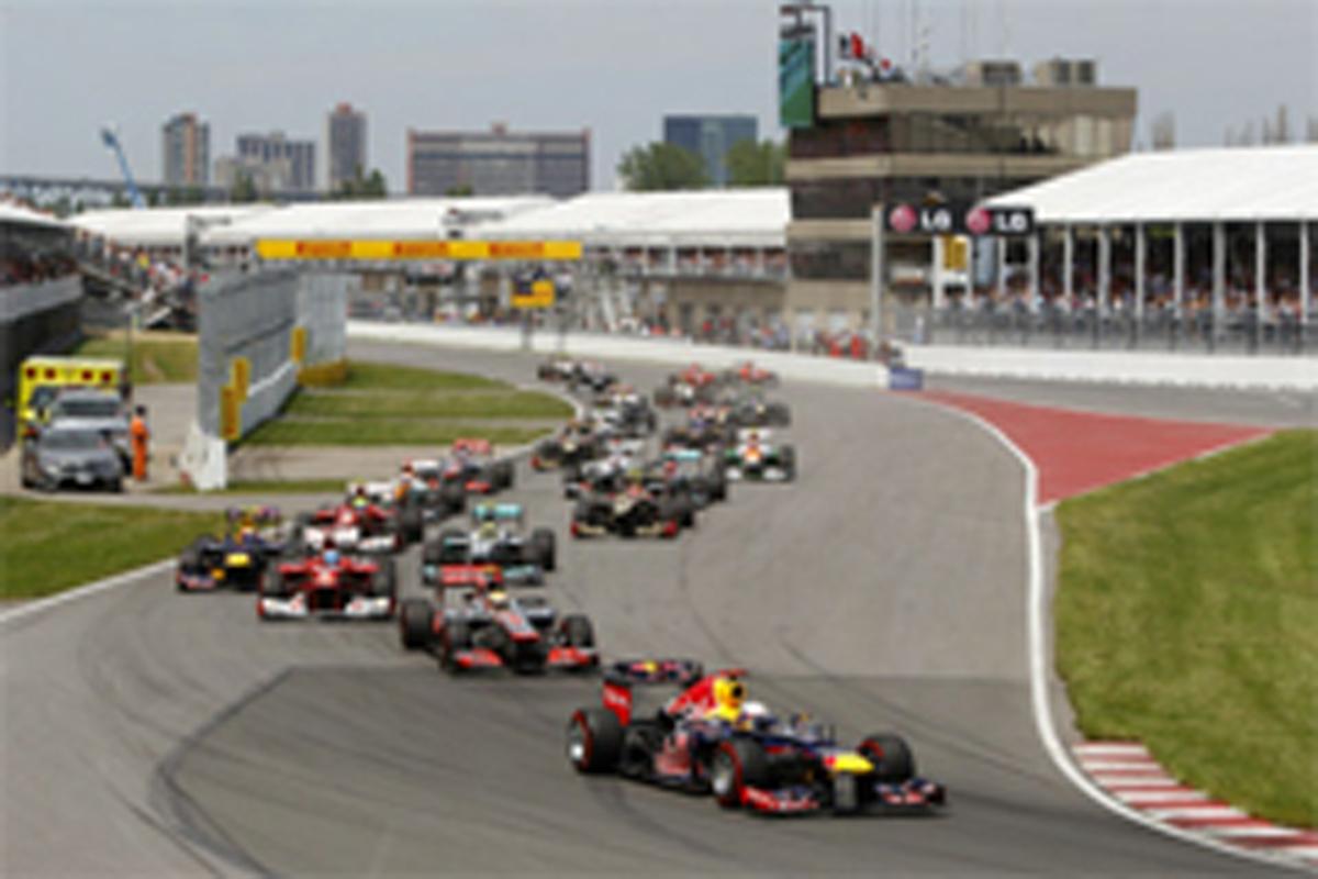 F1 カナダGP 結果
