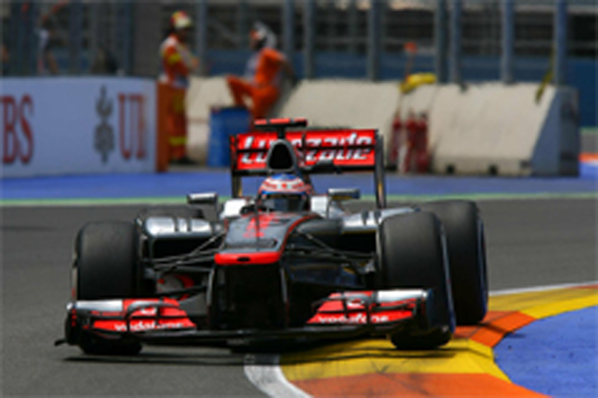 F1ヨーロッパGP フリー走行3回目