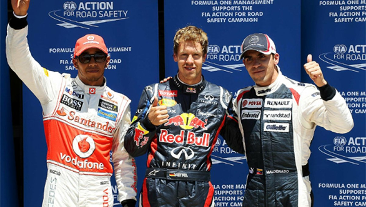 F1 ヨーロッパGP 予選