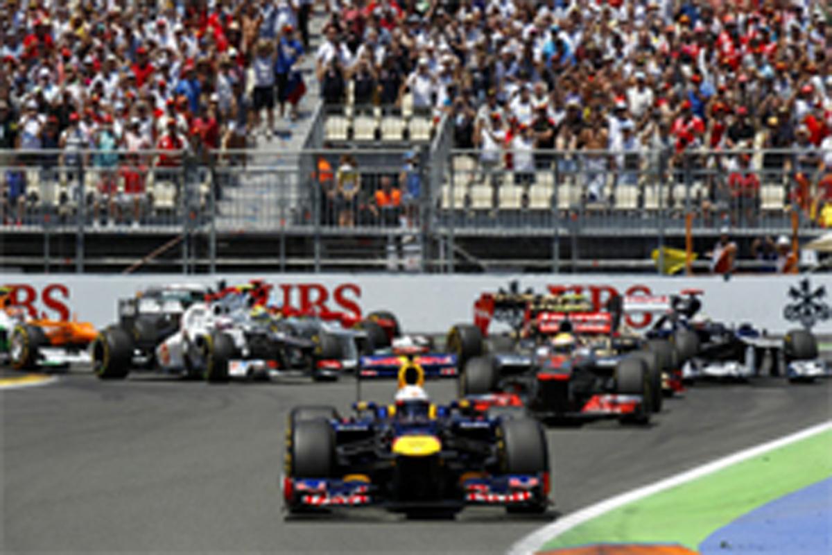 F1ヨーロッパGP 結果