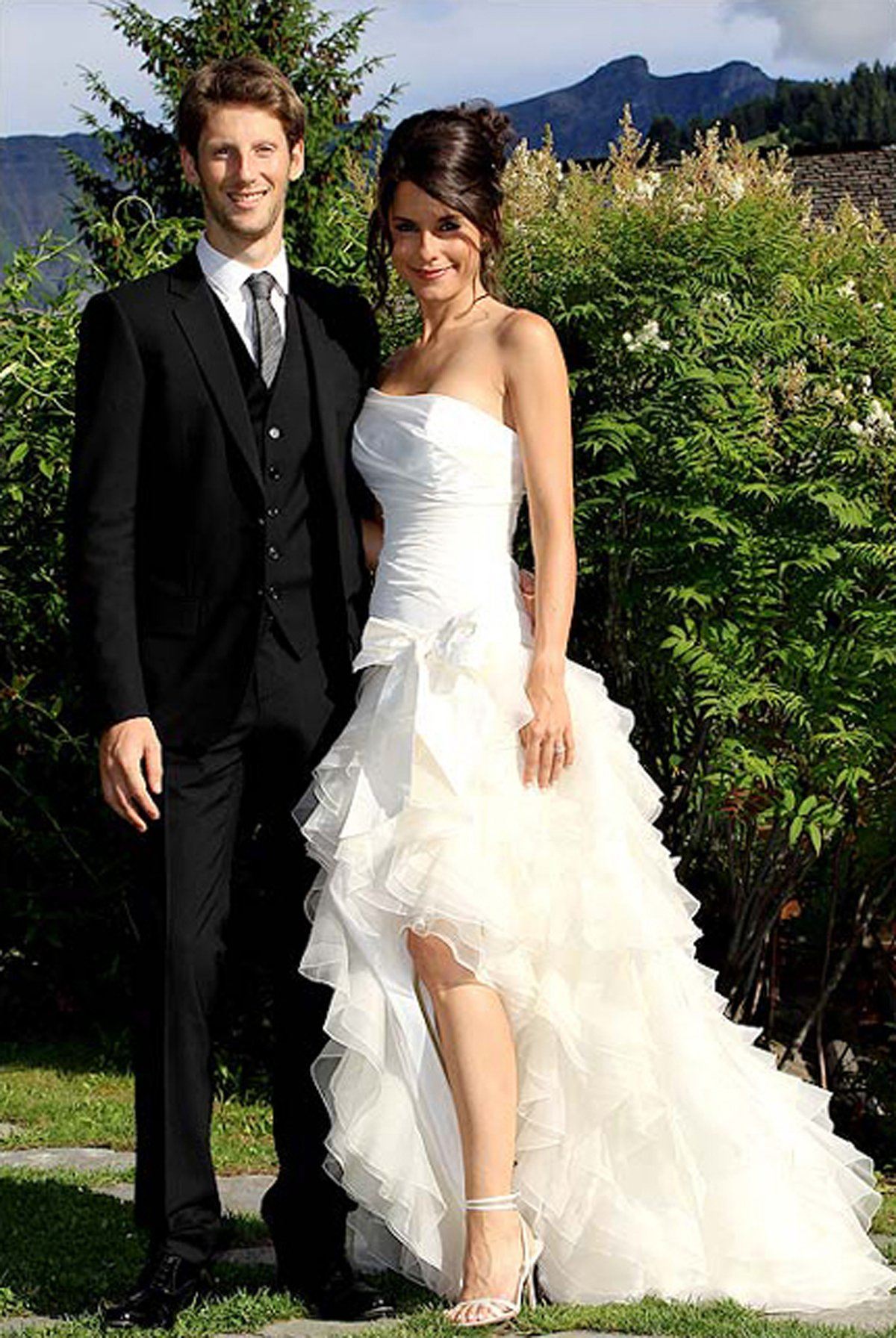Jolles Marion and Romain Grosjean