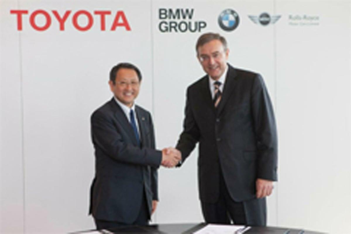 トヨタ BMW スポーツカー共同開発