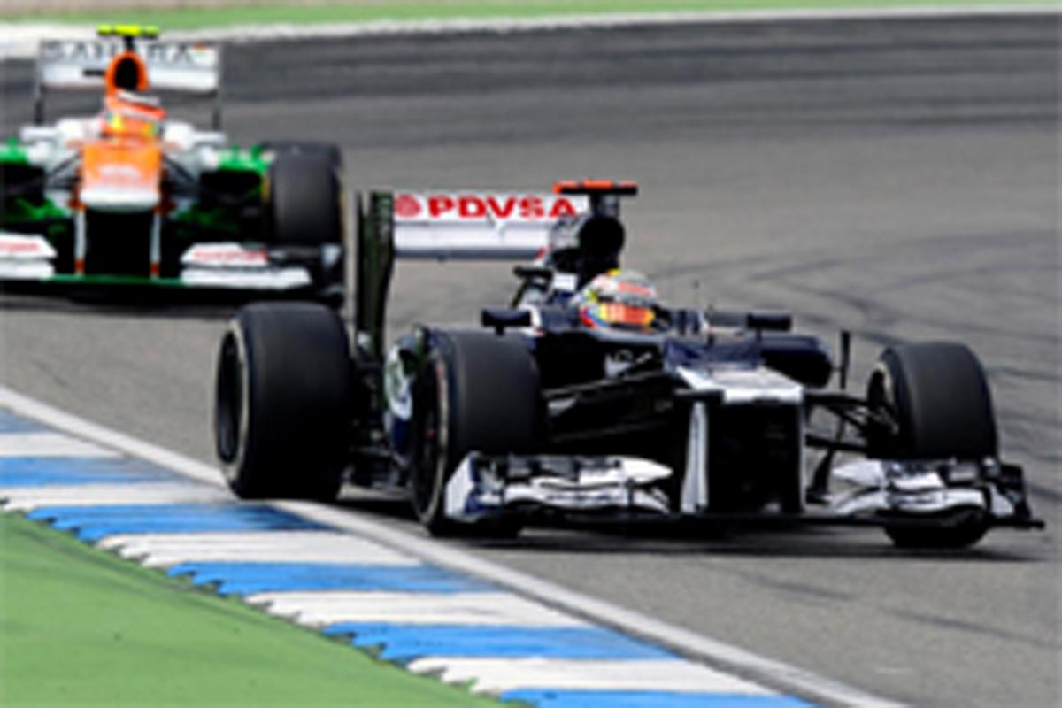 ウィリアムズ F1ドイツGP 結果