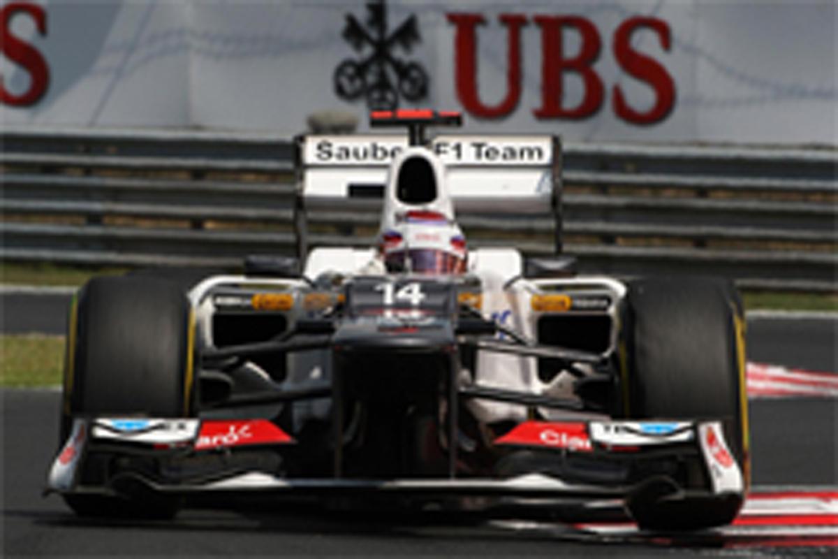 小林可夢偉 F1ハンガリーGP 予選