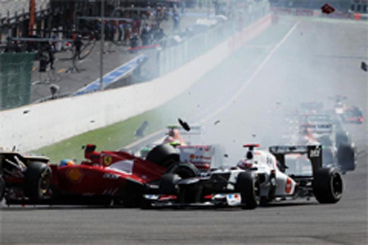 小林可夢偉 F1ベルギーGP 結果