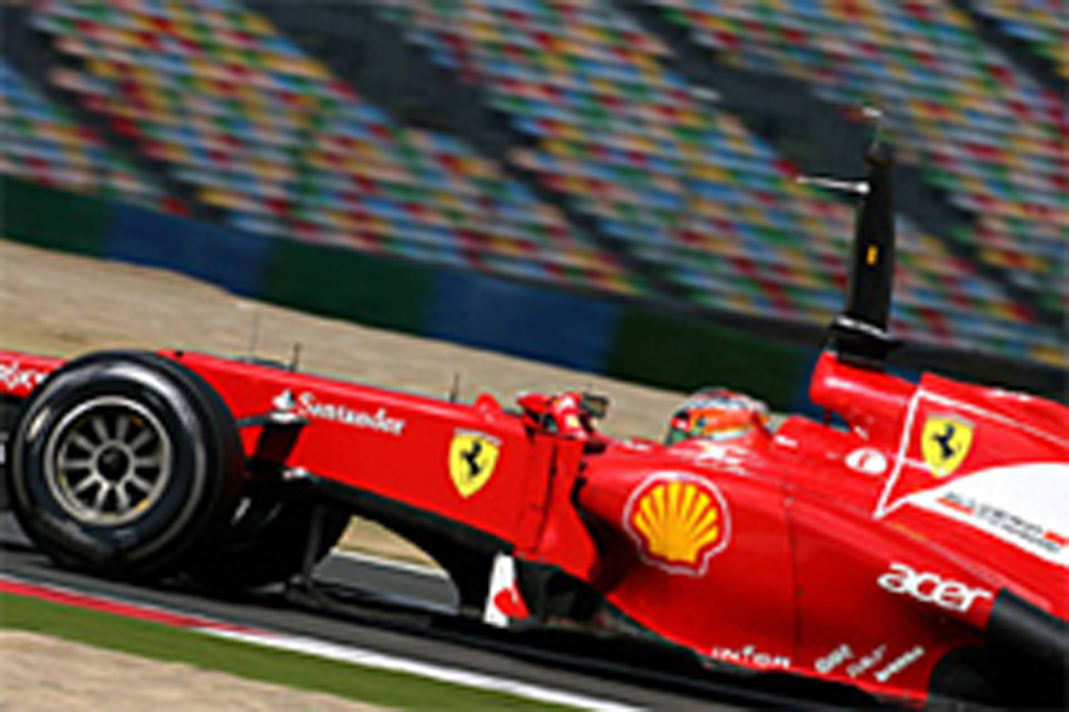F1 マニクール 若手ドライバーテスト