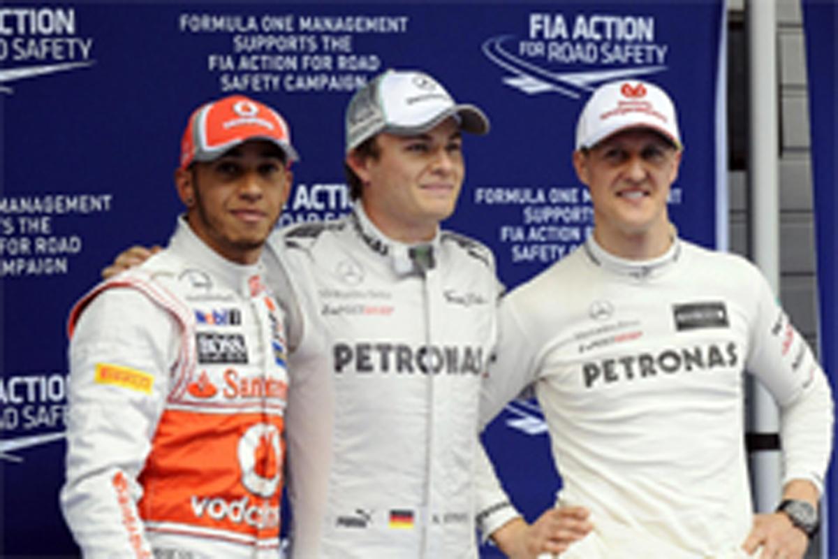 メルセデス 2013年 ドライバーラインナップ