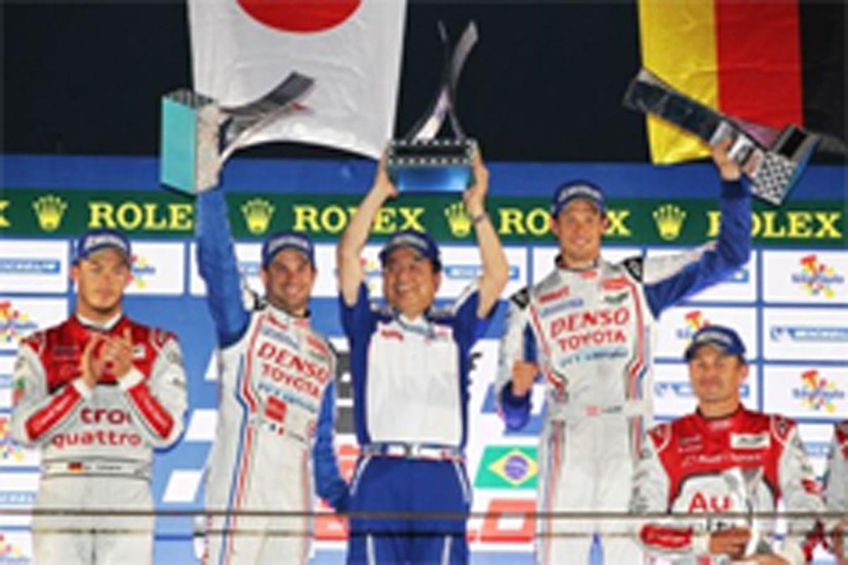 トヨタ WEC 優勝