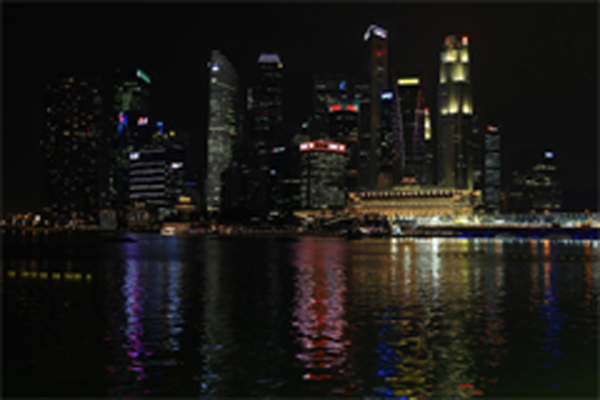 F1シンガポールGP フリー走行1回目