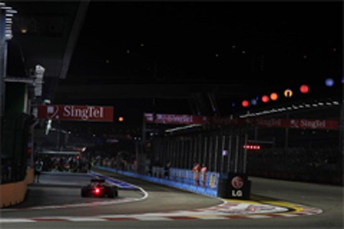 F1シンガポールGP フリー走行2回目