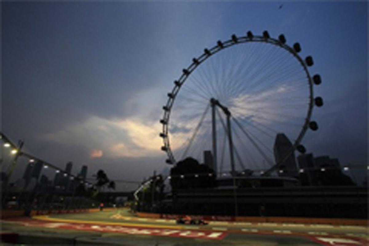 F1シンガポールGP フリー走行3回目