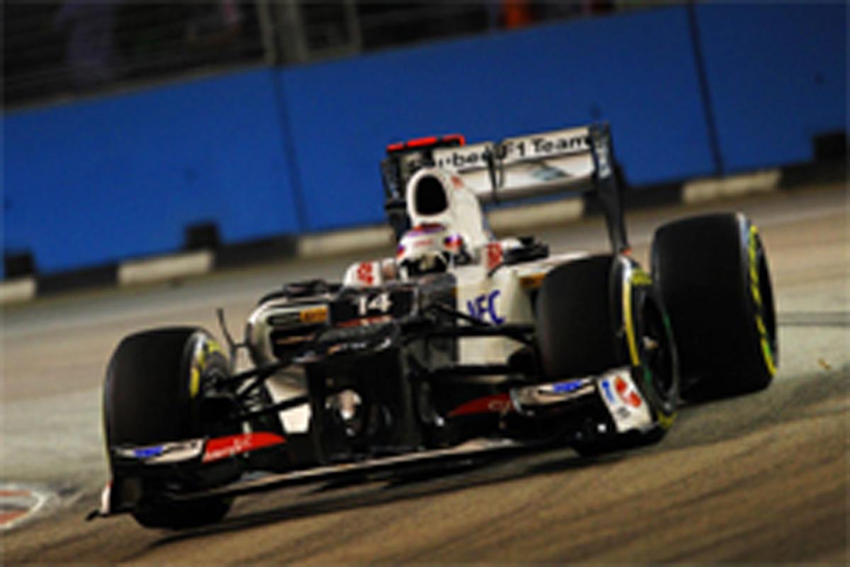 小林可夢偉 F1シンガポールGP 予選