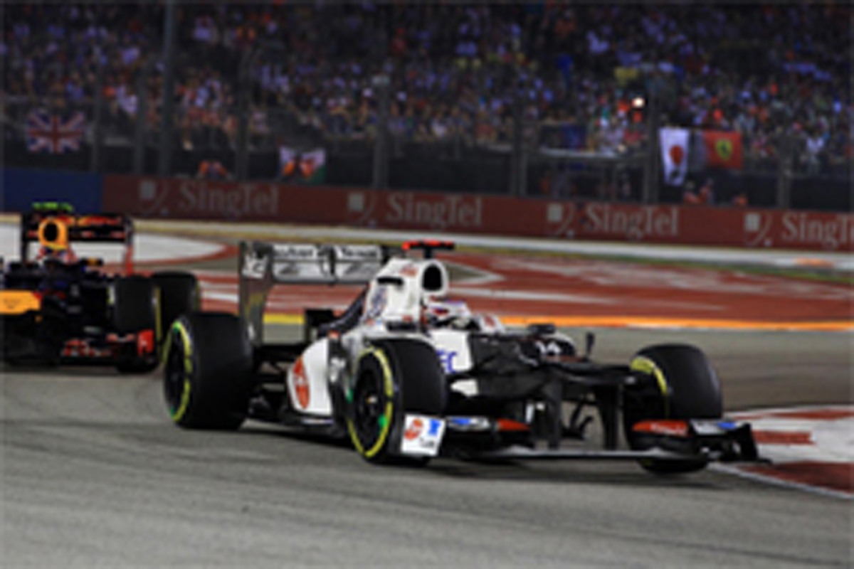 小林可夢偉 F1シンガポールGP 結果