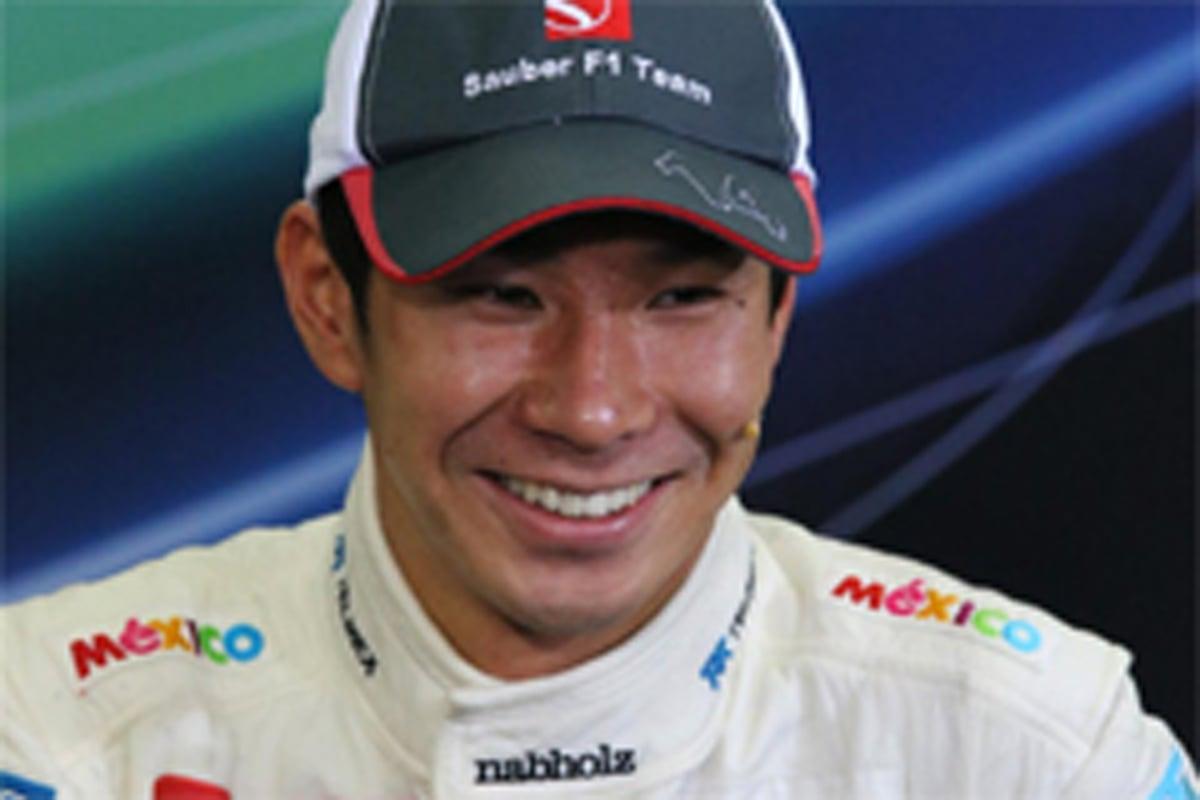小林可夢偉 F1日本GP 表彰台
