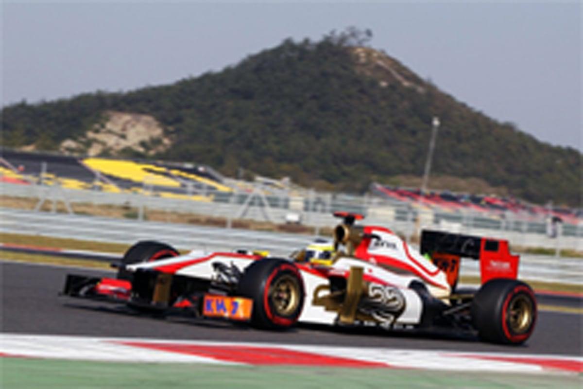 HRT F1韓国GP 予選