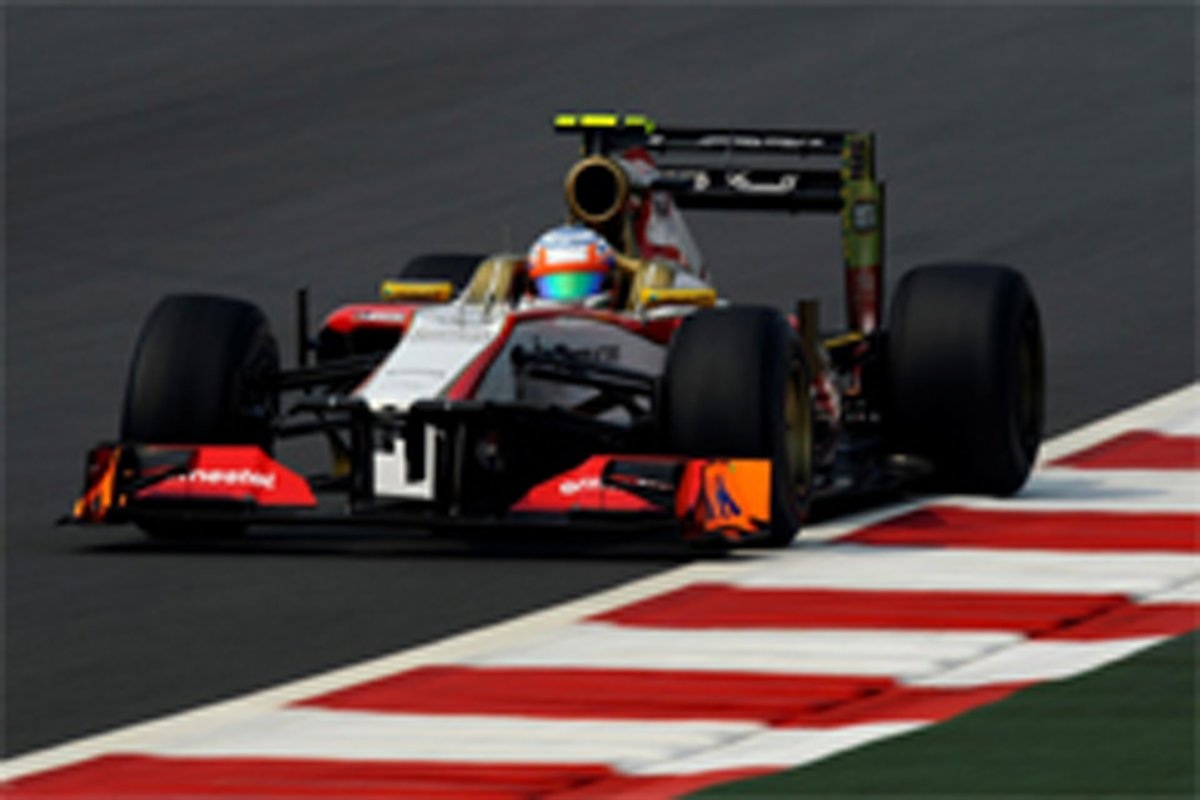 HRT F1 インドGP