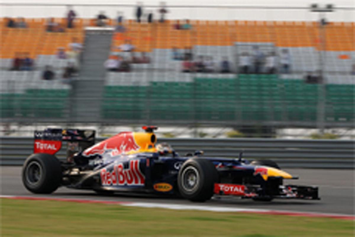 F1インドGP 予選 結果