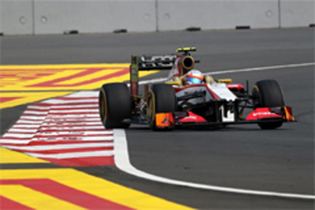HRT F1インドGP 予選
