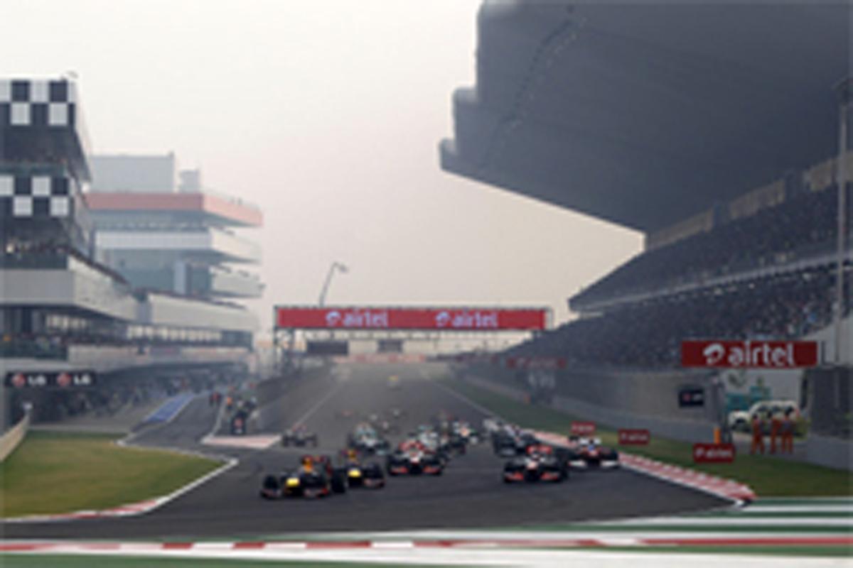 F1インドGP 結果