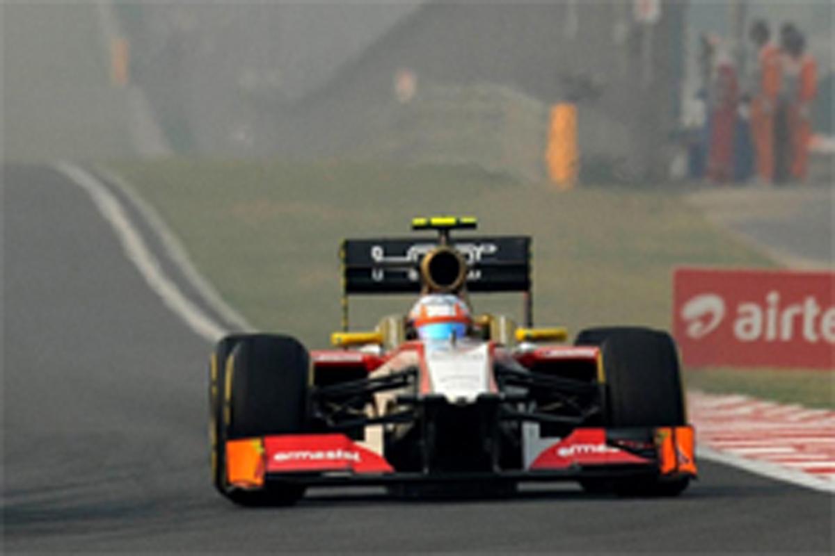 HRT F1インドGP 結果