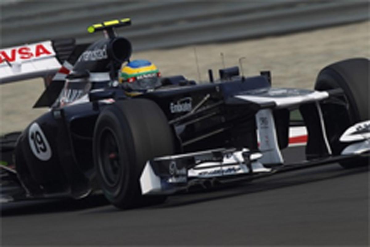 ウィリアムズ F1インドGP 結果