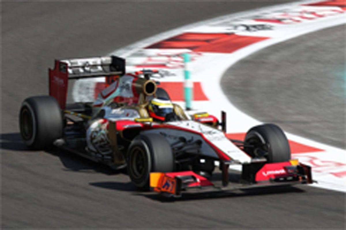 HRT F1アブダビGP 予選