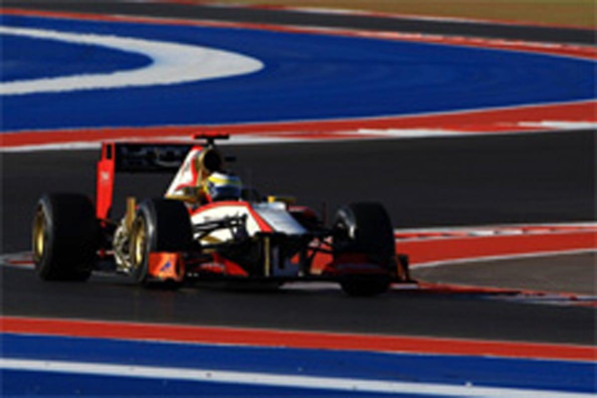 HRT F1アメリカGP 予選