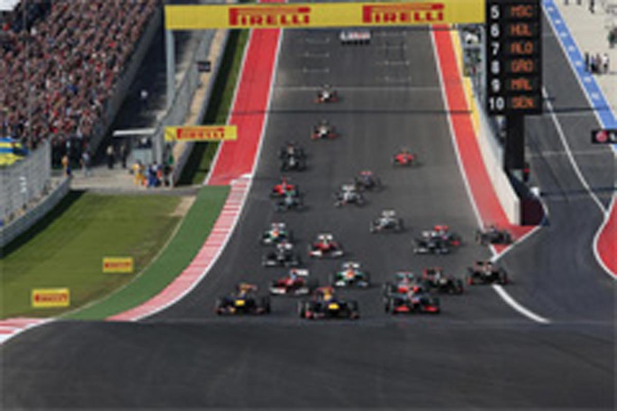F1アメリカGP 結果
