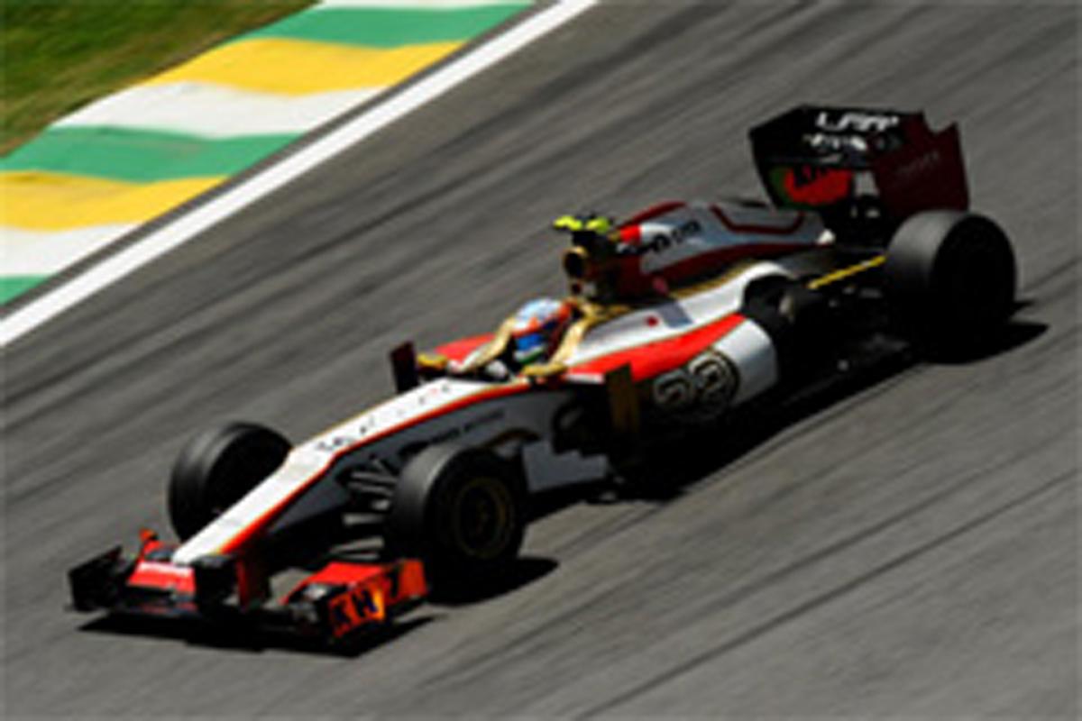 HRT F1ブラジルGP