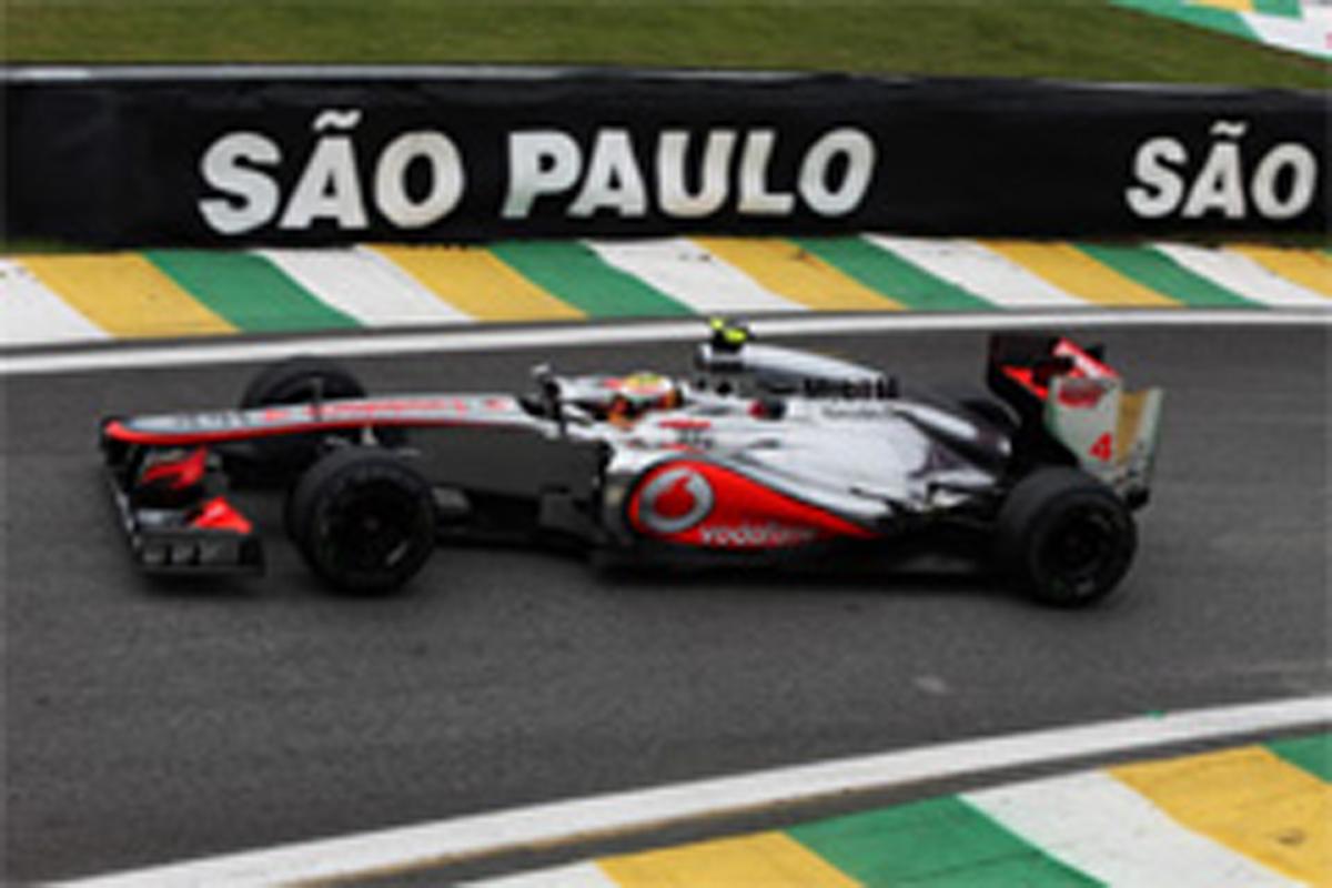 F1ブラジルGP 予選 結果