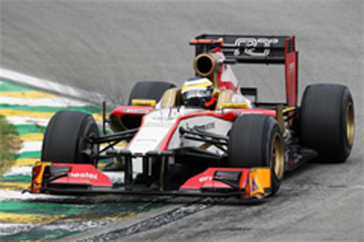 HRT F1ブラジルGP 予選結果