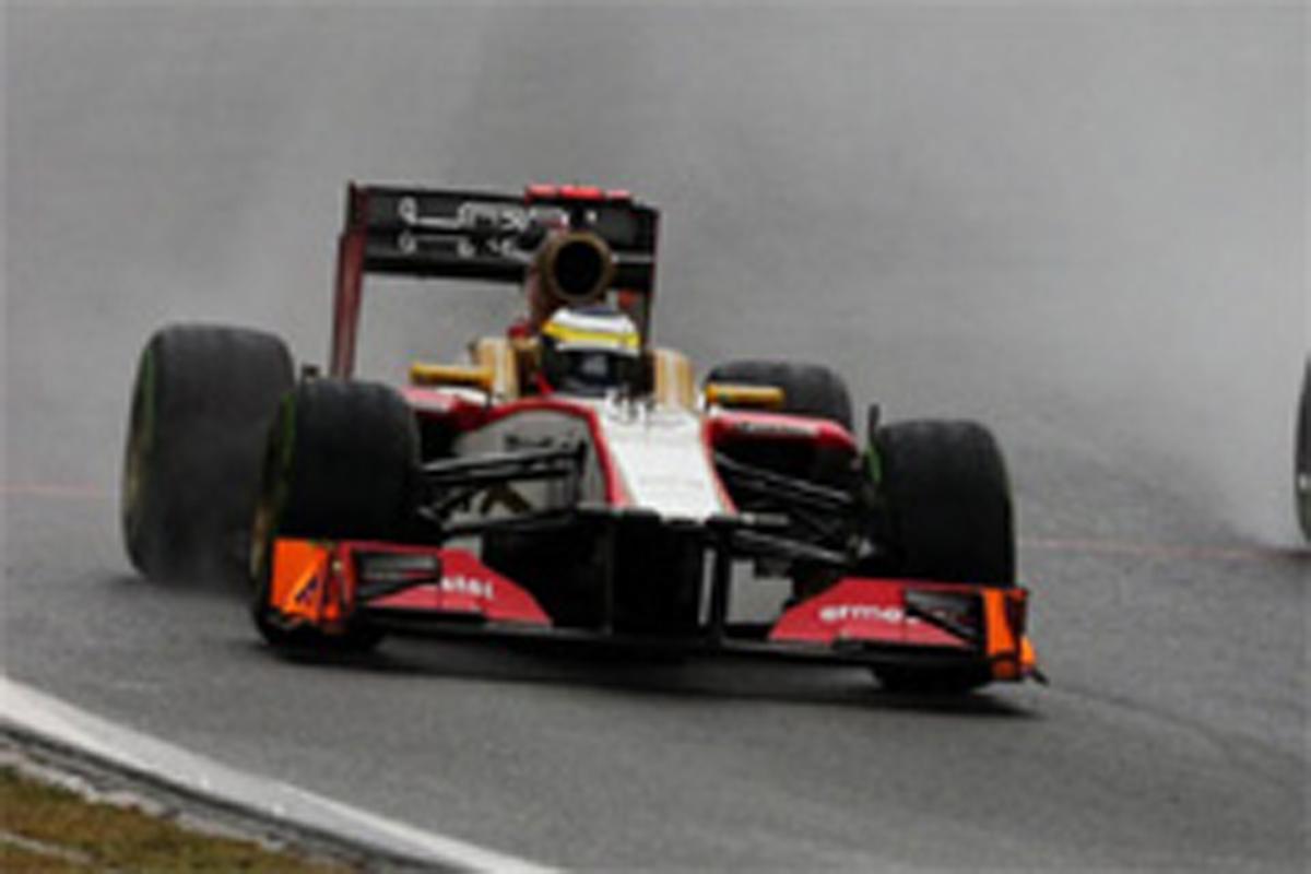 HRT F1ブラジルGP 結果