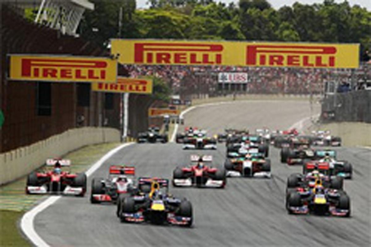 F1 2013年 エントリーリスト