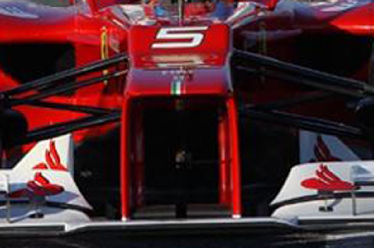 Ferrari F2012 ノーズ