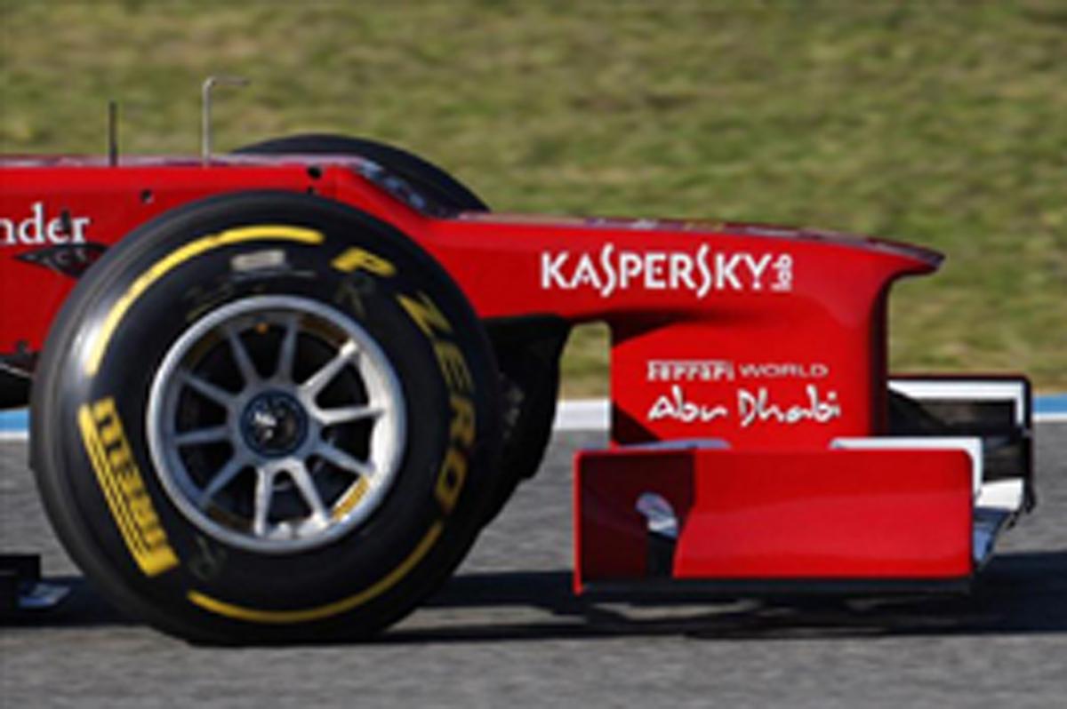 フェラーリ F2012 ノーズ