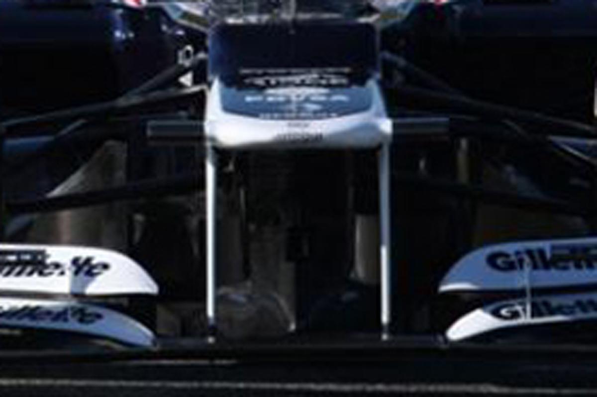 Williams FW34 ノーズ