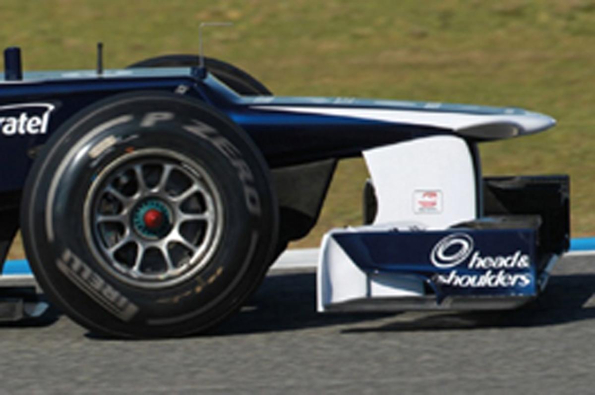 ウィリアムズ FW34 ノーズ