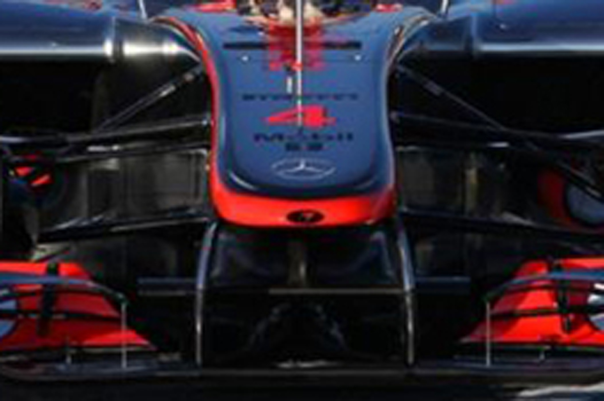 McLaren MP4-27 ノーズ
