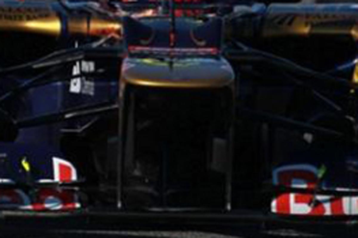 Toro Rosso STR7 ノーズ