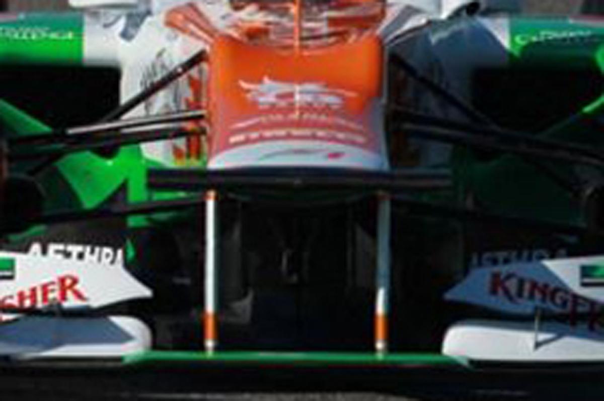 Force India VJM05 ノーズ