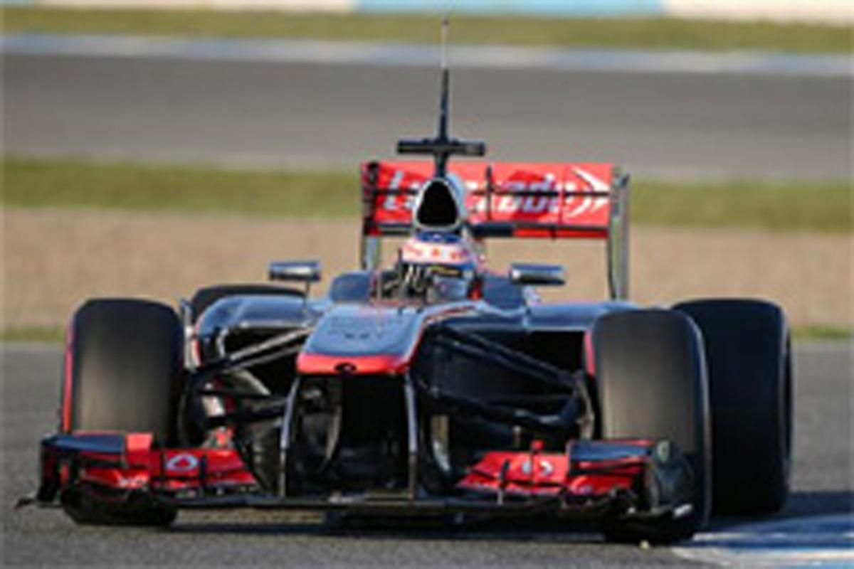 F1ヘレステスト初日