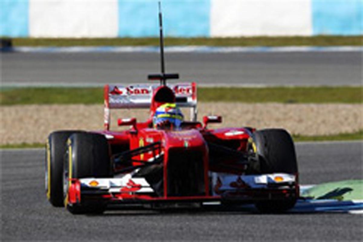 F1 ヘレステスト 3日目