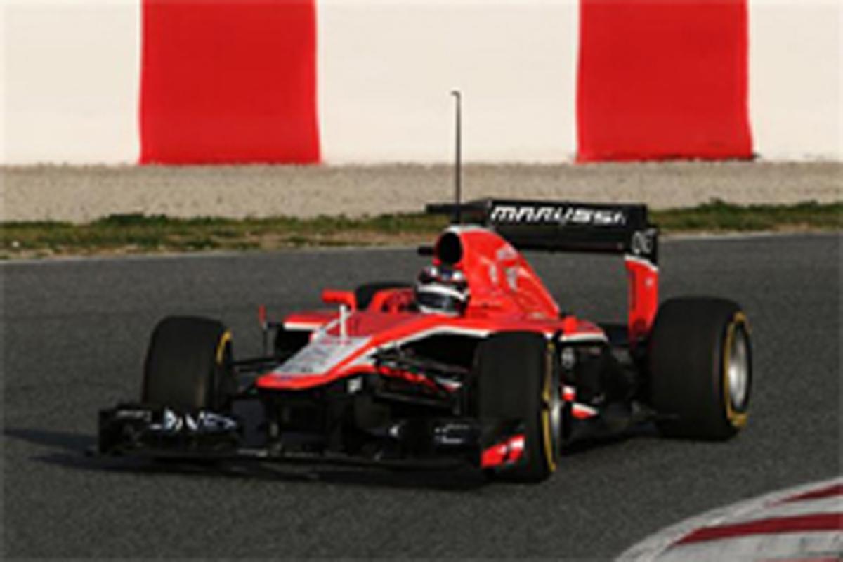 マルシャ F1バルセロナテスト 初日