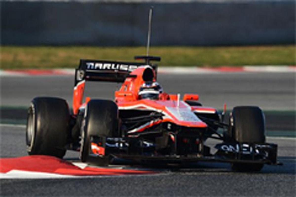 マルシャ F1バルセロナテスト