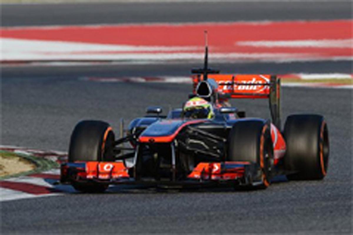 マクラーレン F1バルセロナテスト2日目