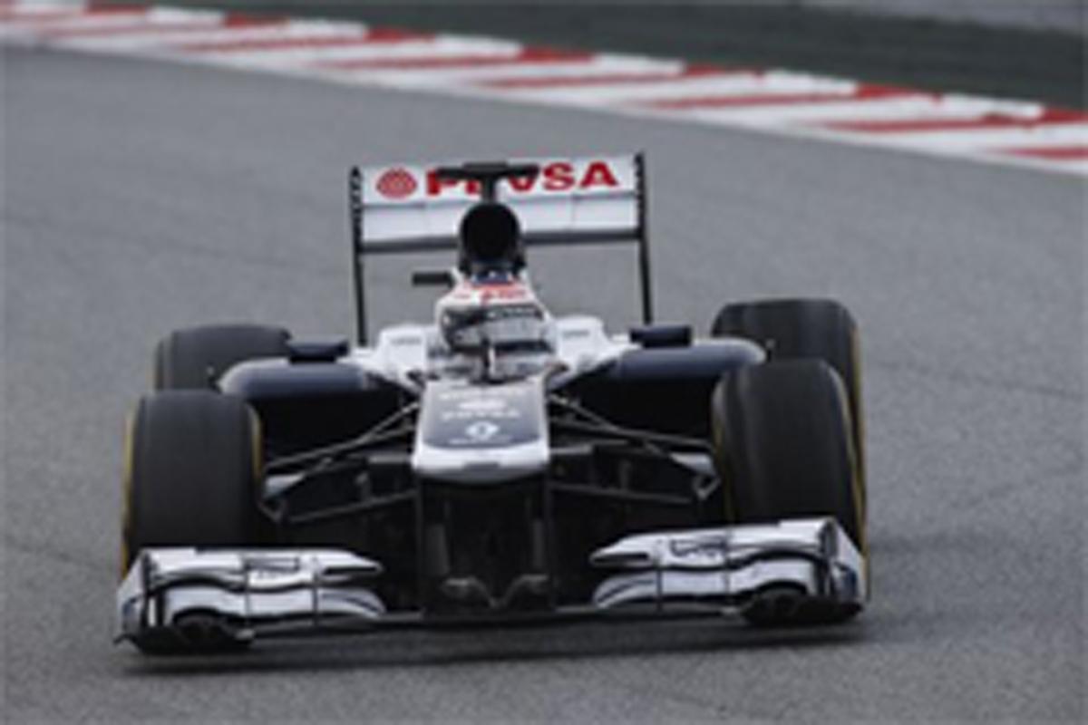 ウィリアムズ F1 バルセロナテスト